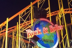 rock roller coaster hamburger Dom