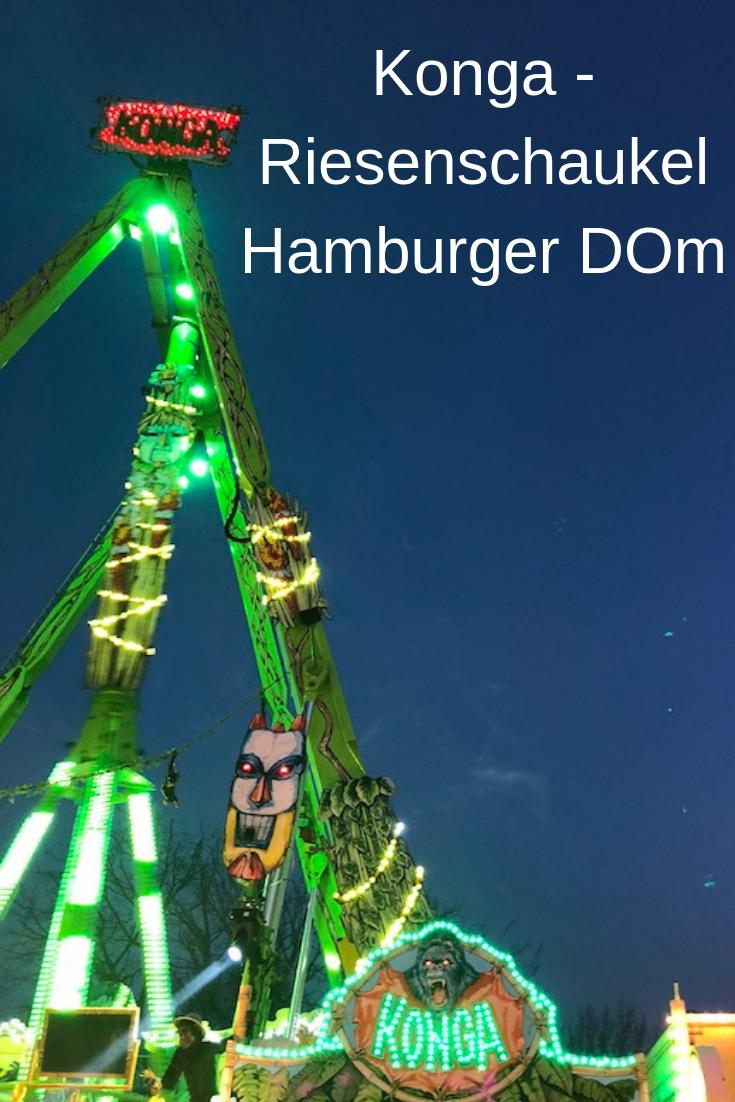 Konga Riesenschaukel auf dem Hamburger DOM