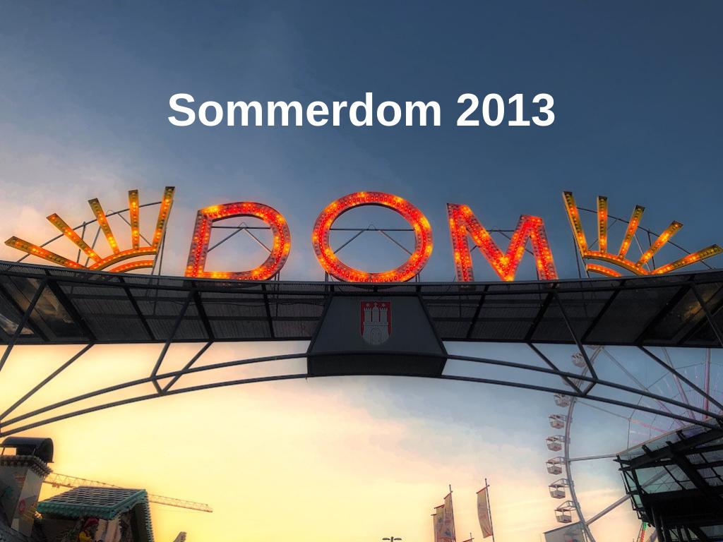 Sommerdom 2013