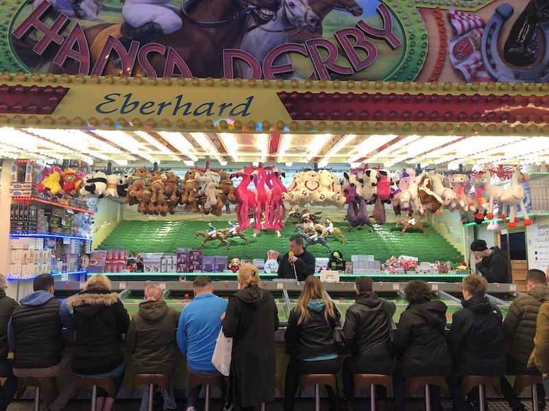Hansa Derby - Pferderennen auf dem Hamburger DOM