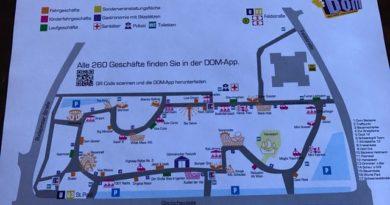 Lageplan - Hamburger Frühlingsdom 2017