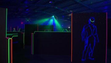 Laser Tag auf dem Hamburger Frühlingsdom 2017